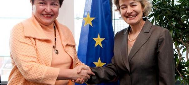 georgieva and bokova ec audiovisual