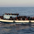 migrants and refugees bound for Italy photo IOM  Francesco Malavolta