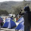 Migrants and refugees in the Greek island of Lesbos. © IOM/Amanda Nero 2015