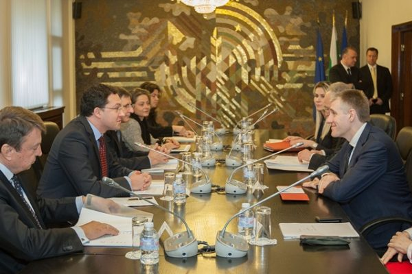 Mitov and foreign minister of Montenegro