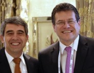 Plevneliev and Sefcovic