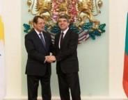 President of Cyprus Nicos Anastasiades and President of Bulgaria Rossen Plevneliev