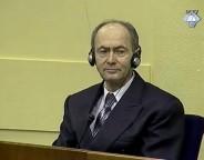 Hag, 26. februara 2010. - U Hagu je pocelo sudjenje bivsem visokom oficiru Vojske Republike Srpske Zdravku Tolimiru, koji je pred Haskim tribunalom optuzen za genocid i zlocine protiv covecnosti, pocinjene protiv muslimana u Srebrenici i Zepi. FOTO TANJUG/ ICTY/bk