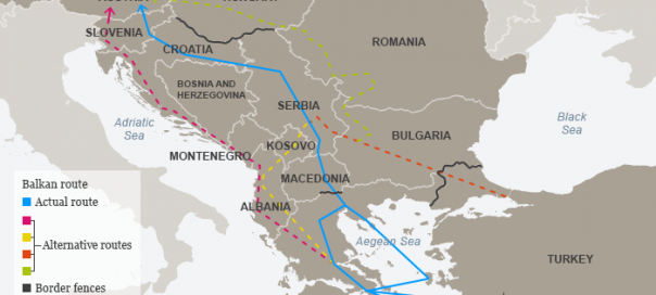 More Than One Refugee Route Through The Balkans The