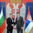 Bulgarian Defence Minister Nikolai Nenchev in Serbia