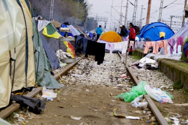 Refugees are on the tracks but going nowhere Jamie Dettmer VOA