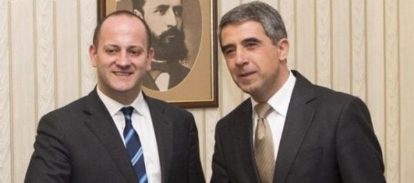 Radan Kanev and President Plevneliev during March 7 talks.