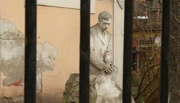 The Yavorov house in Sofia. Screenshot via Nova Televizia.
