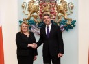 Plevneliev and president of Malta