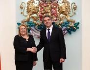 Plevneliev and president of Malta