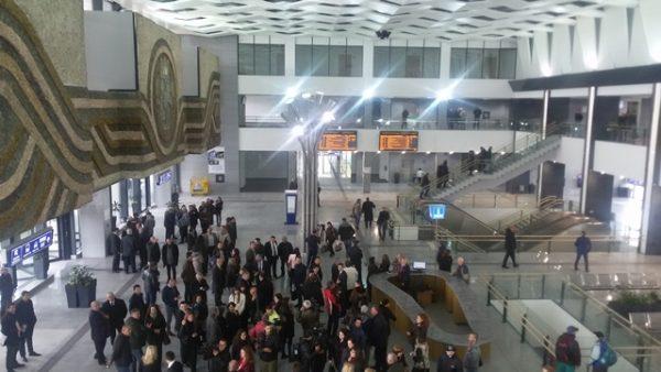 Sofia Central Railway Station interior 4 photo copyright Clive Leviev-Sawyer