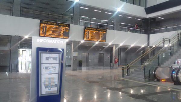 Sofia Central Railway Station photo copyright Clive Leviev-Sawyer