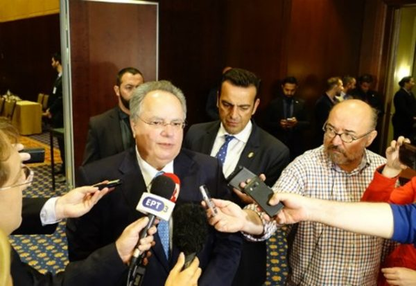 Greek foreign minister Nikos Kotzias