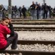 refugee migrant macedonia greece photo J Owens VOA