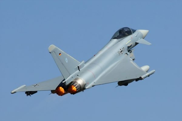 A Eurofighter in service with the German Luftwaffe.