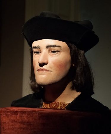 A facial reconstruction of Richard III, composed after the finding of his remains.