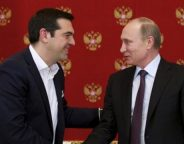 Tsipras and Putin IBNA