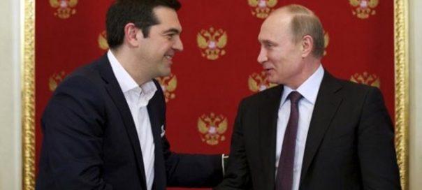 Tsipras and Putin IBNA