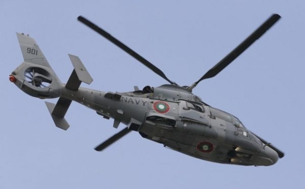 bulgarian army helicopter