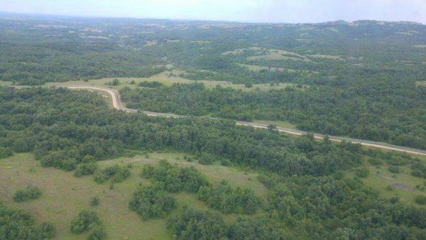bulgarian turkish border fence aerial