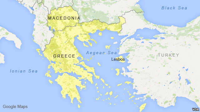 macedonia greece map voa | The Sofia Globe