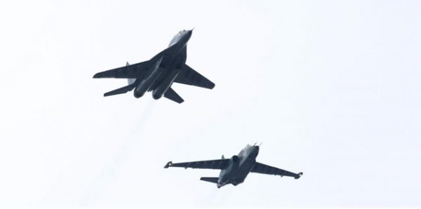 mig bulgarian jet fighters