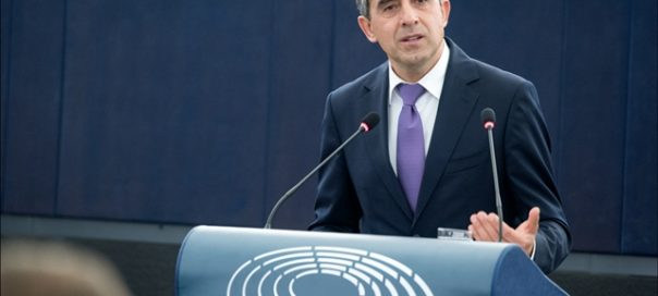 Bulgarian President Rossen Plevneliev European Parliament
