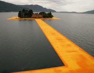 Christo and Jeanne-Claude Photo Wolfgang Volz copyright 2016 Christo