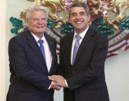 Joachim Gauck and Rossen Plevneliev
