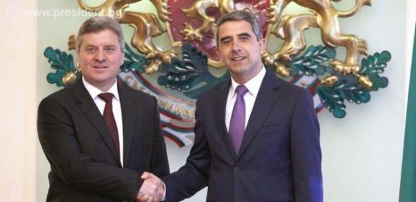 Macedonia president Gjorge Ivanov Bulgaria president Rossen Plevneliev photo president bg