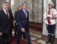 Macedonian president Ivanov Bulgarian President Plevneliev June 1 2016