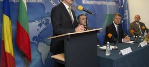 Plevneliev Romanian Bulgarian business forum