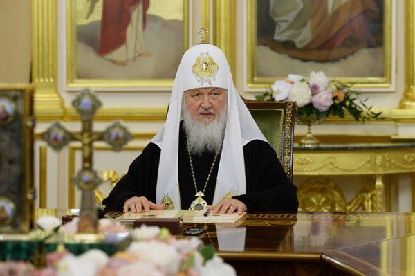 Russian Orthodox Church Patriarch Kirill