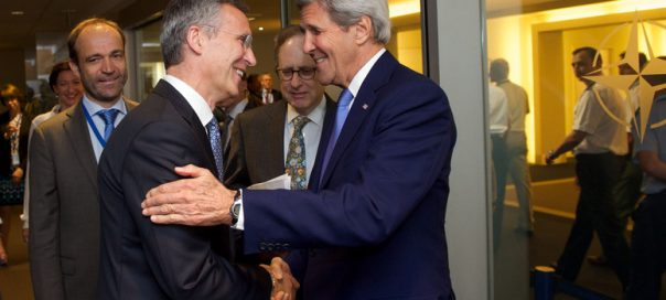 US Secretary of State, John Kerry visits NATO and meets with NATO Secretary General Jens Stoltenberg