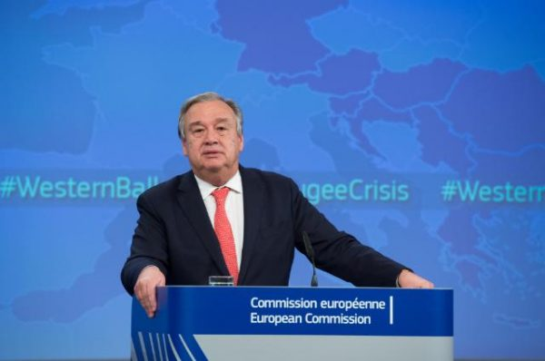 Antonio Guterres. Photo: EC Audiovisual Service.