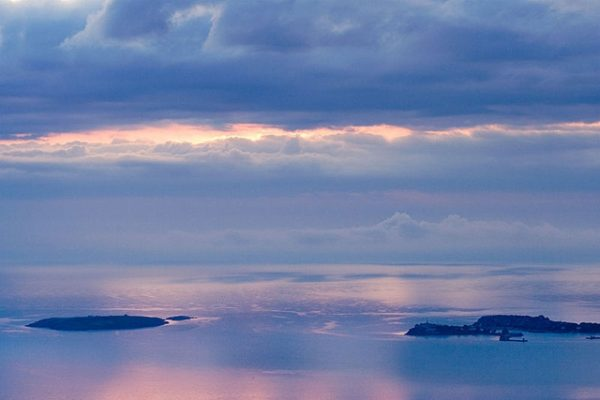 The Bulgarian Black sea islands Ivan, Petar and Kirik. Photo: evgord.com