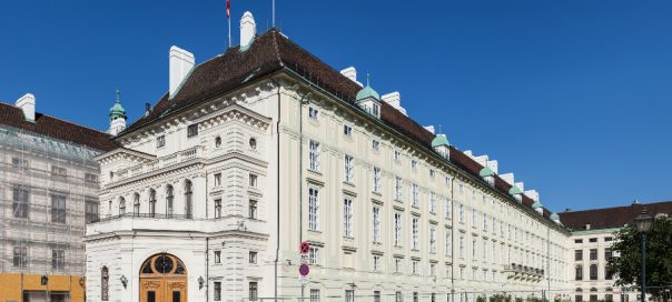 The Leopoldine wing of Hofburg Imperial Palace in Vienna, home to the offices of the Austrian federal president. Photo: Thomas Wolf/Wikimedia Commons
