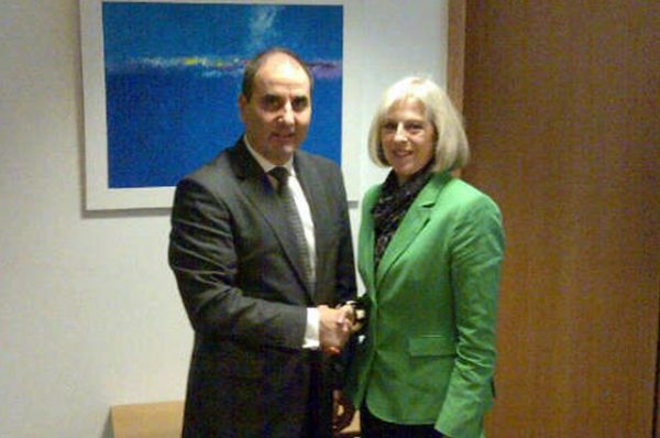 Tsvetanov and Theresa May