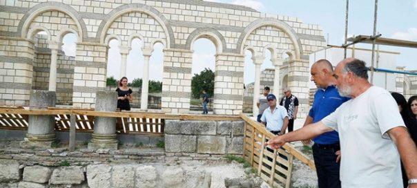 borissov great basilica pliska bulgaria