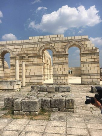great basilica pliska bulgaria