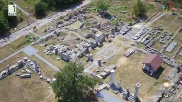Nicopolis ad Istrum. Screenshot: BNT