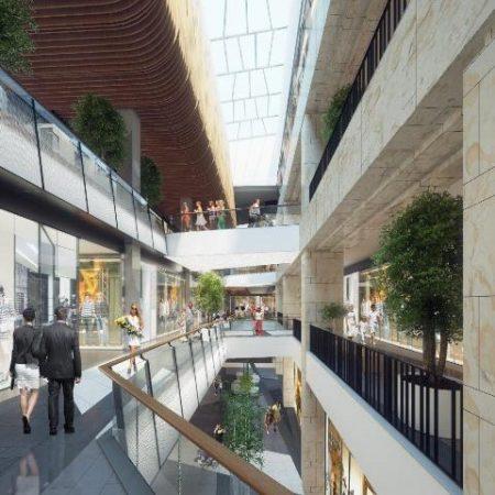 Markovo Tepe mall artists impression 2