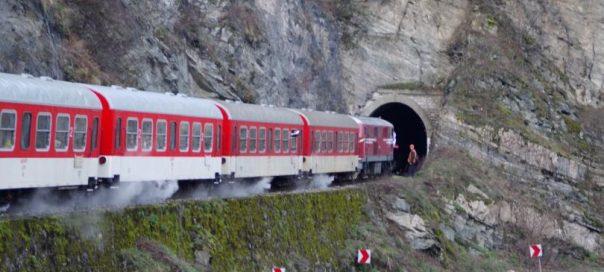 train septembri narrow gauge line bulgaria