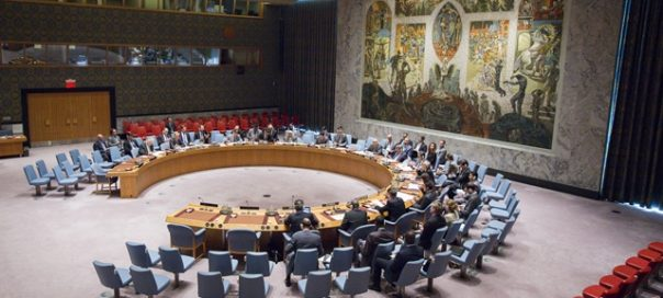 Wide view of the chamber during the meeting.  Implementation of the note by the President of the Security Council (S/2010/507)
