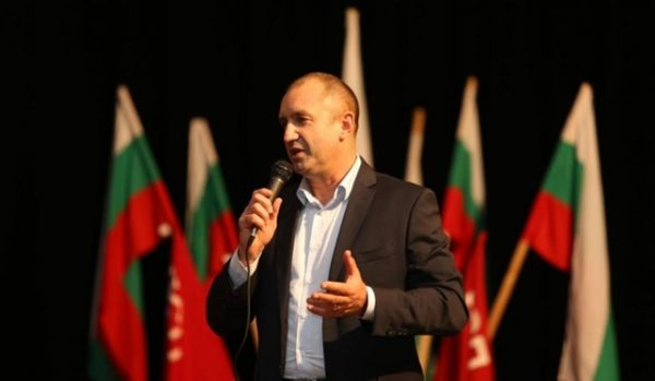 Bulgarian Socialist Party presidential candidate Roumen Radev.