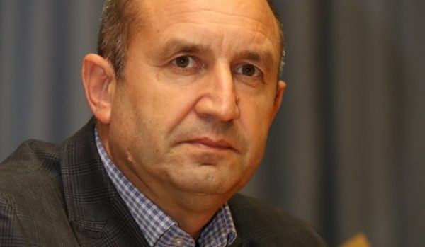 Roumen Radev, the BSP candidate in Bulgaria's 2016 presidential elections.