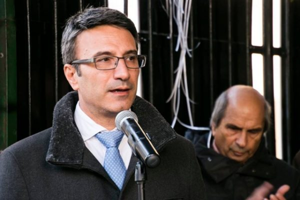 Traicho Traikov, the Reformist Bloc's candidate in Bulgaria's November 2016 presidential elections.