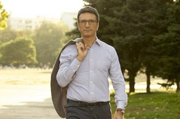 Reformist Bloc presidential candidate Traicho Traikov.