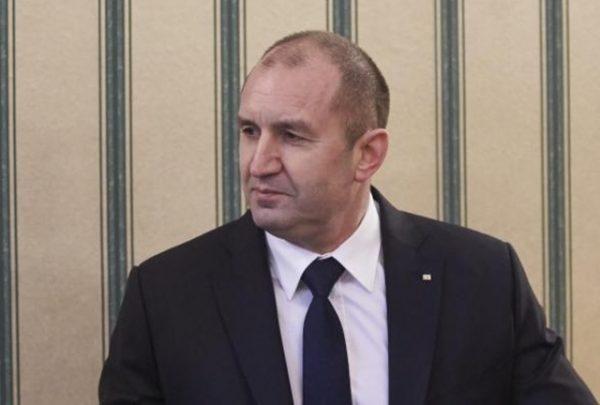 Bulgarian President Roumen Radev