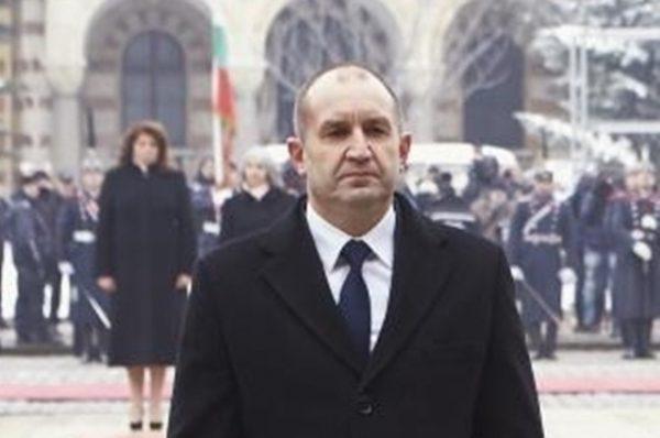 Bulgarian President Roumen Radev.